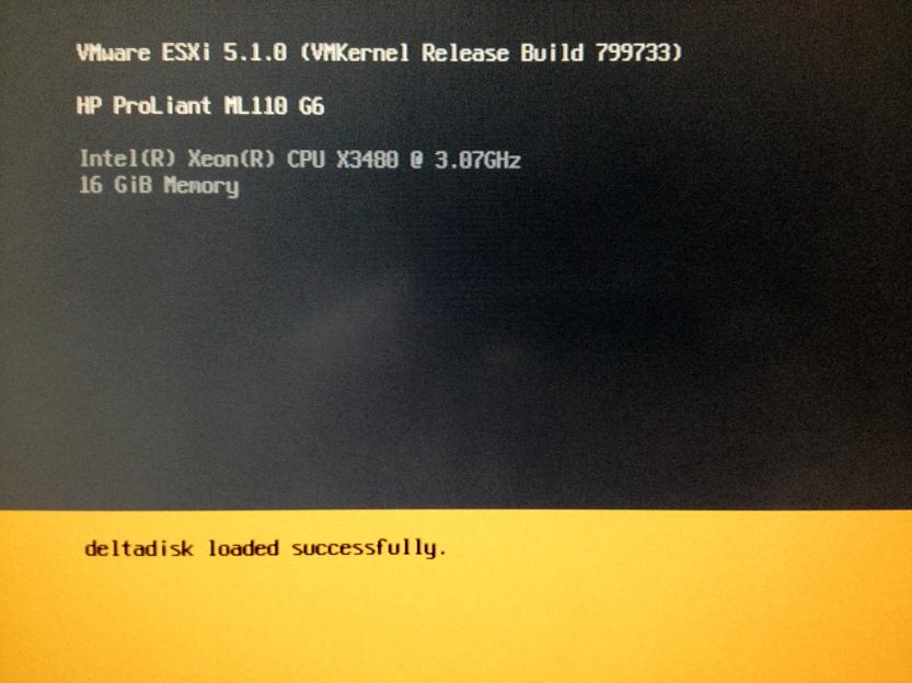 VMware vSphere Hypervisor 5.1 Installer
