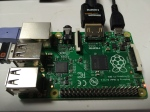 Raspberry Pi B+ 起動直後